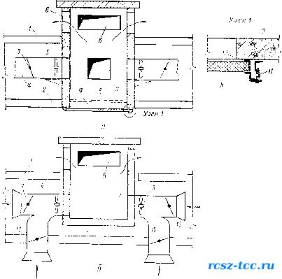 Схемы дымовых вентиляционных